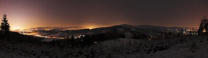 noční panorama