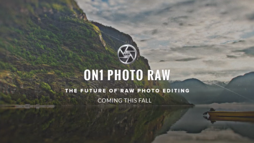 ON1 Photo RAW editor RAW fotografií